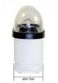 Trisa Electronics 7397-70 3Eier Weiß Eierkocher