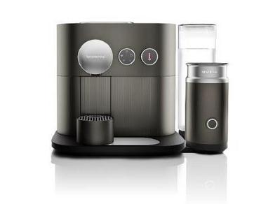 DeLonghi EXPERT EN355.GAE Freistehend Vollautomatisch Pad-Kaffeemaschine 1.1l Anthrazit
