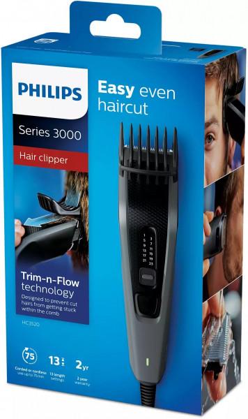 Philips Haarschneidemaschine HC3520 15 grau schwarz