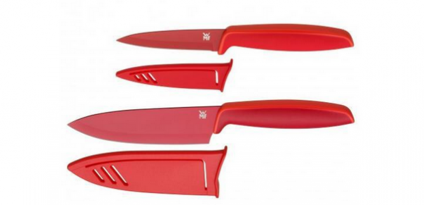 WMF Messerset Touch 2tlg. rot