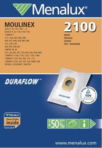 Staubbeutel Menalux 2100 ersetzt PX4